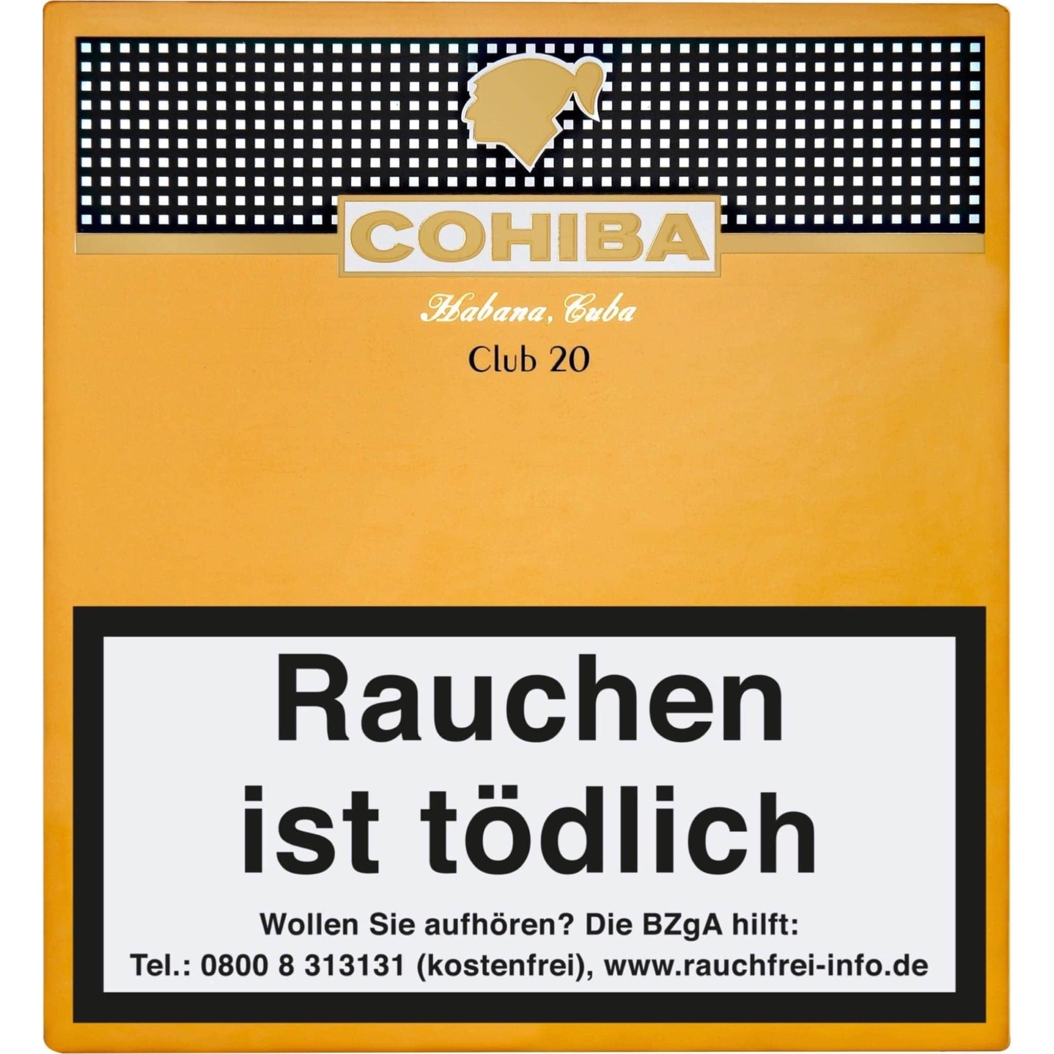 Cohiba Club 20er Packung