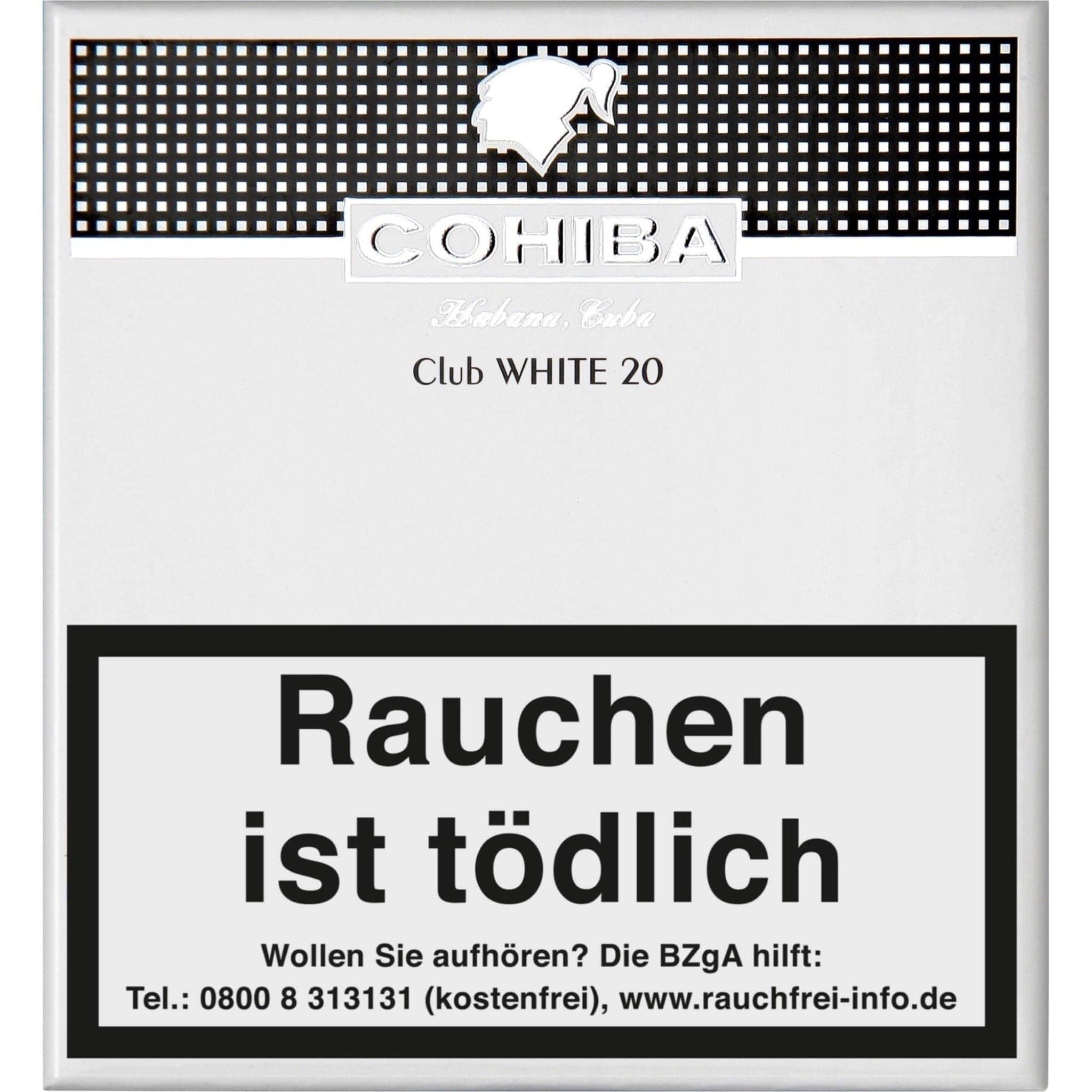 Cohiba Club White 20er Packung