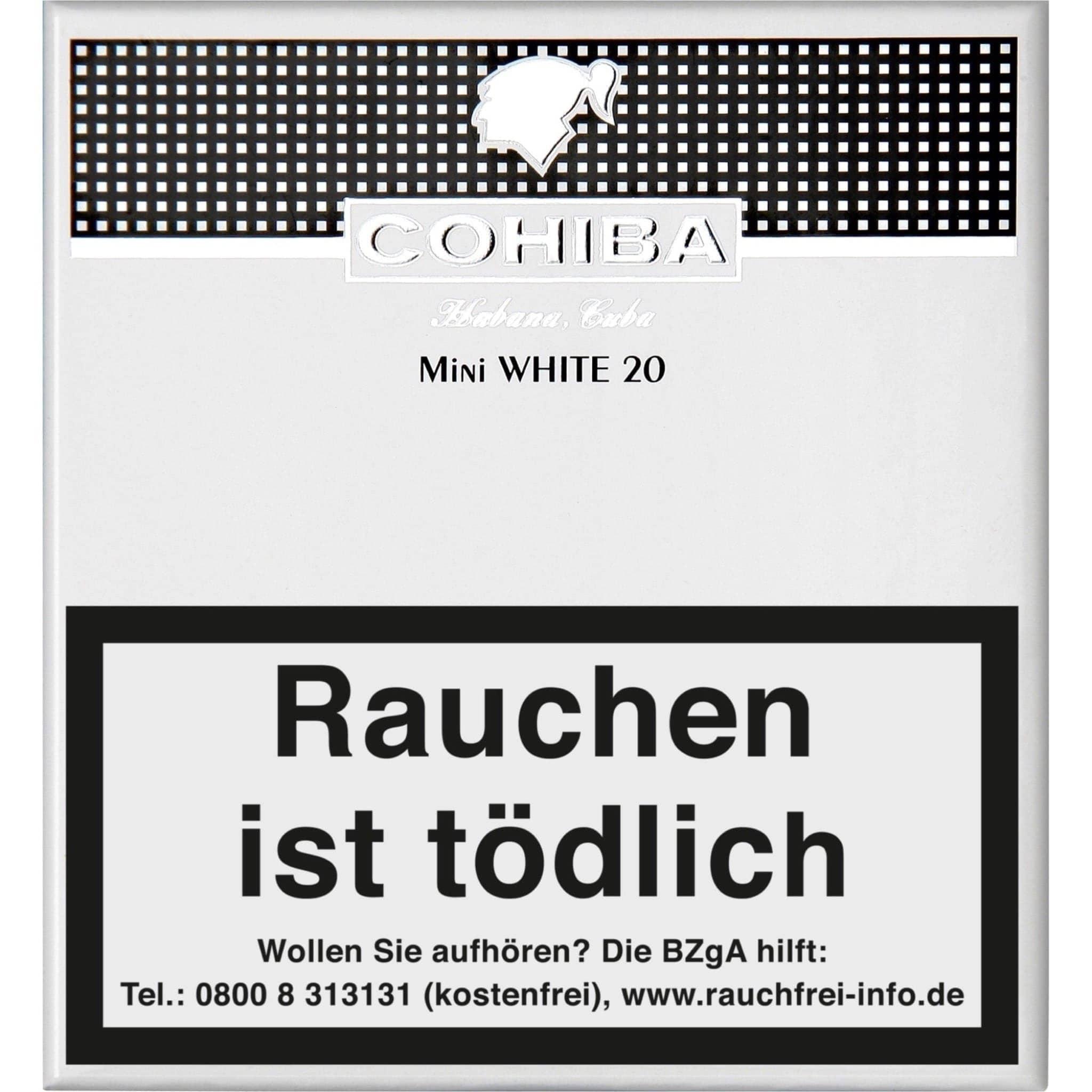 Cohiba Mini White 20er Packung