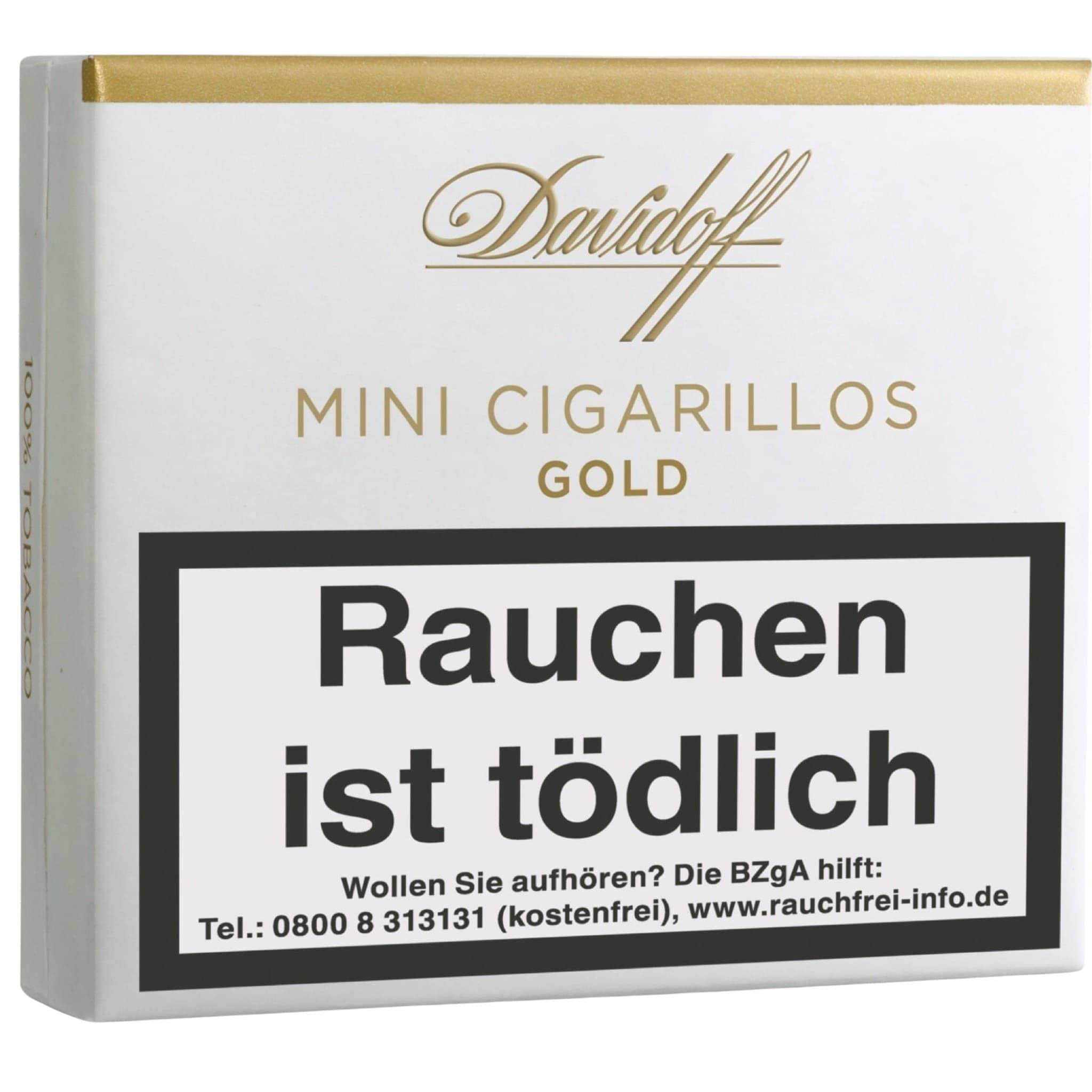 Davidoff Mini Cigarillos Gold 10er Packung
