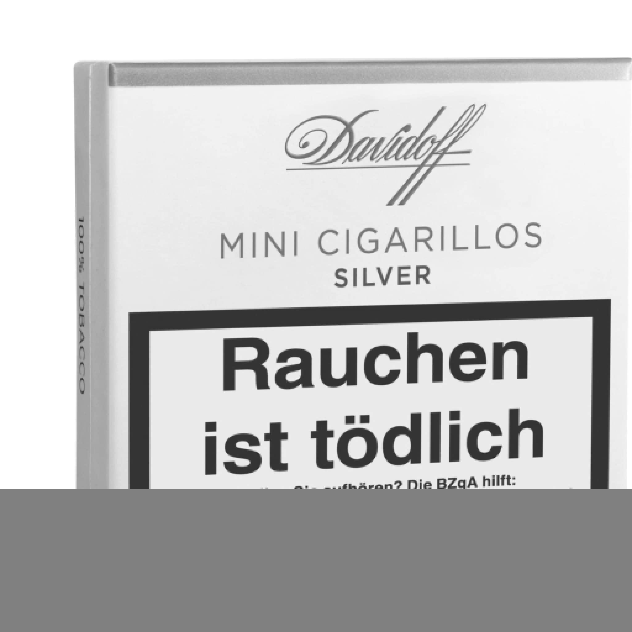 Davidoff Mini Cigarillos Silver 20er Packung