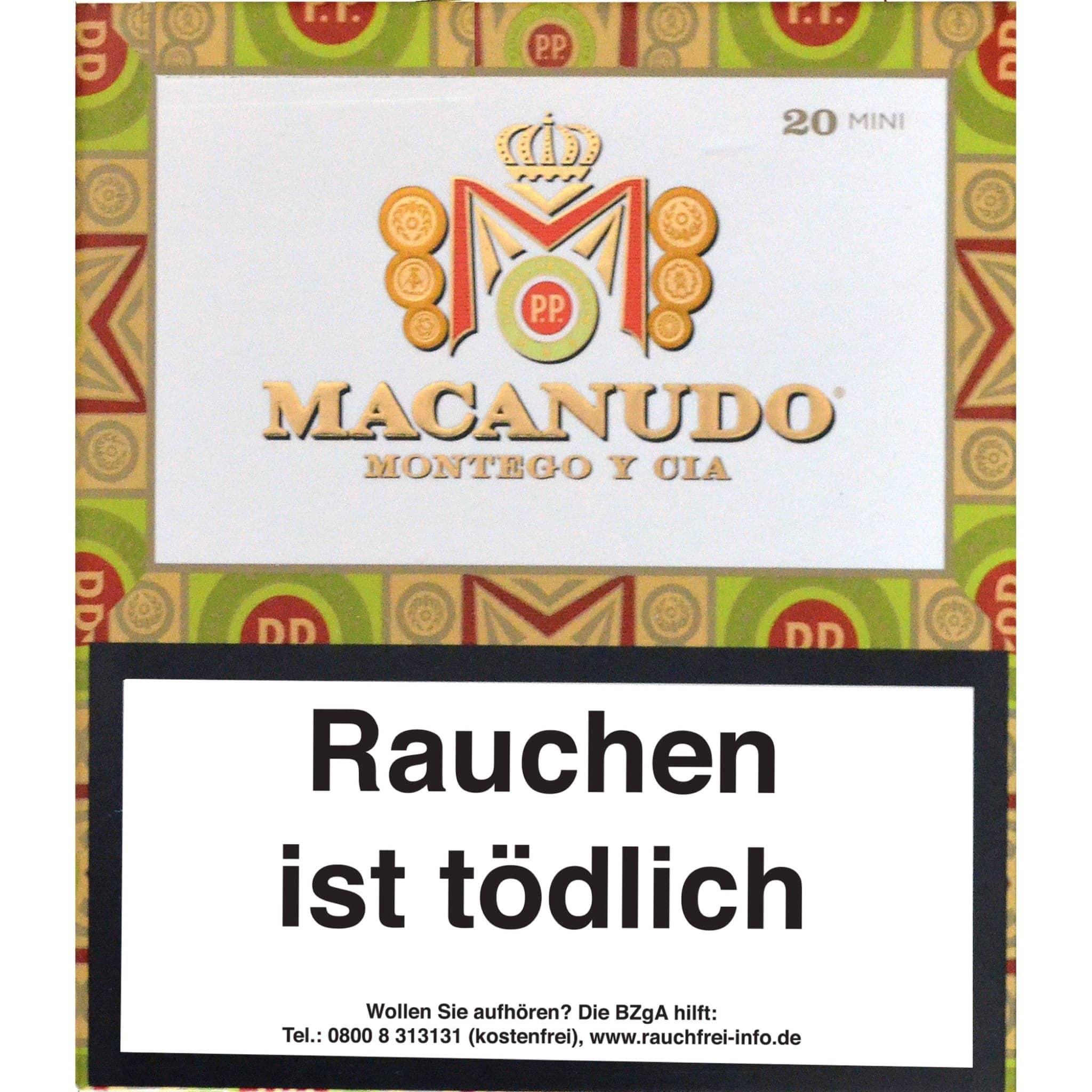 Macanudo Connecticut Mini 20er Packung