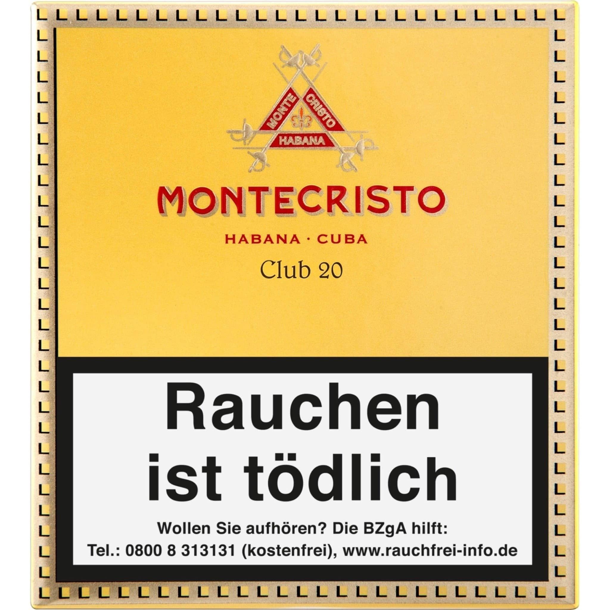 Montecristo Club 20er Packung