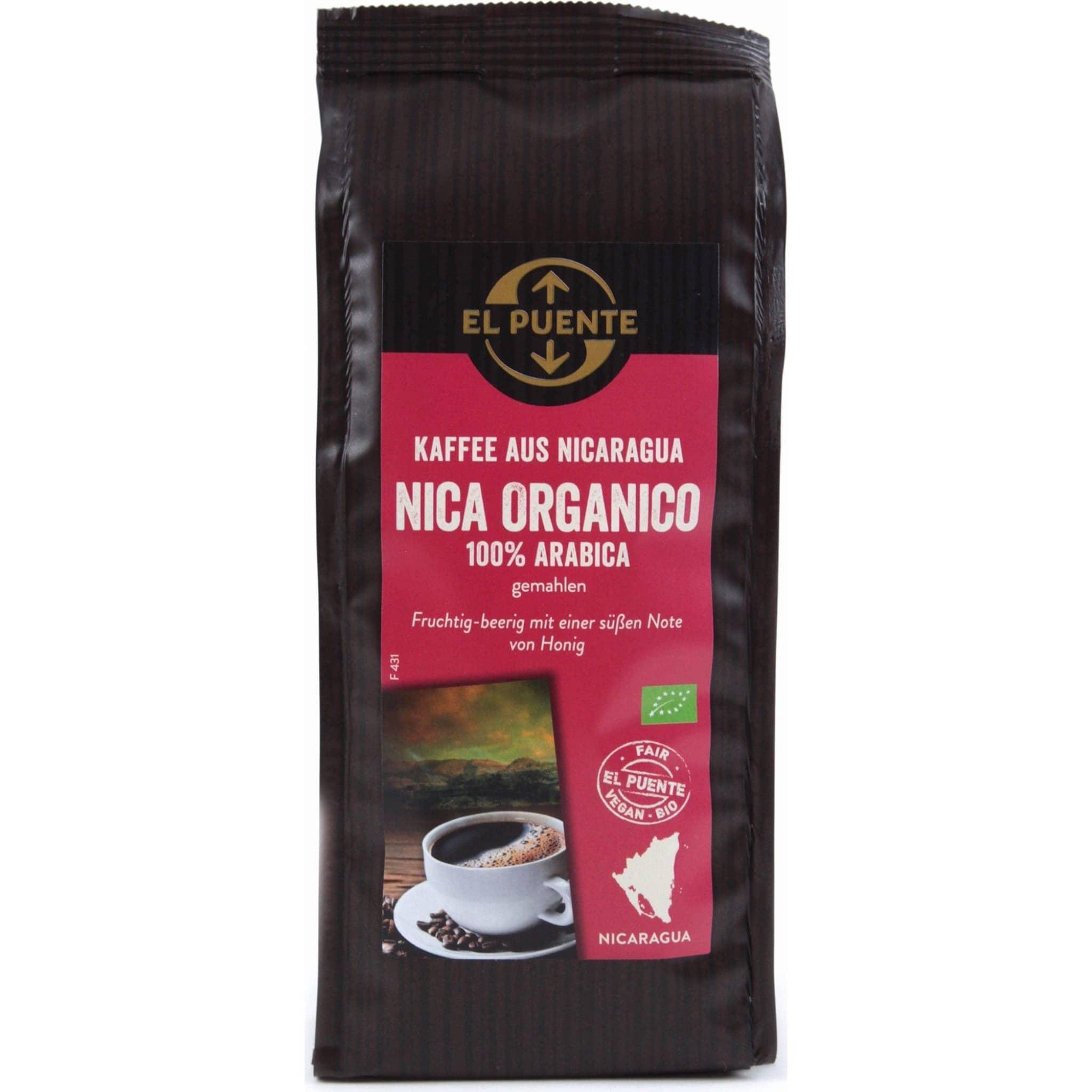 Nica Organica gemahlen 250g