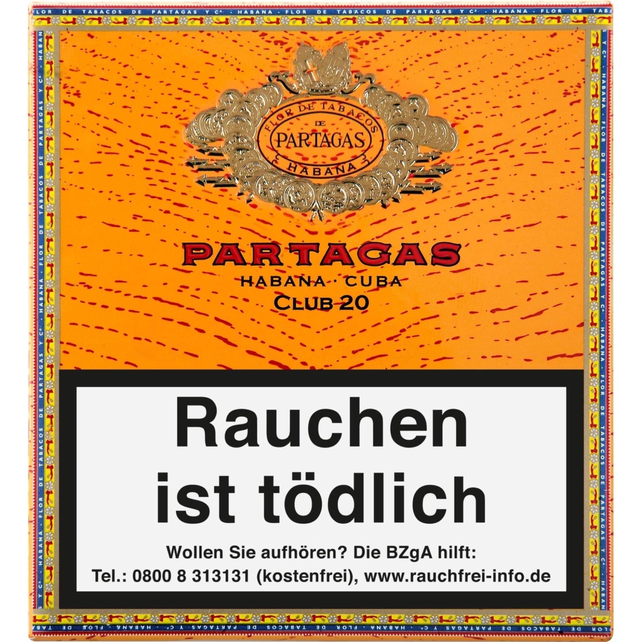 Partagás Club 20er Packung
