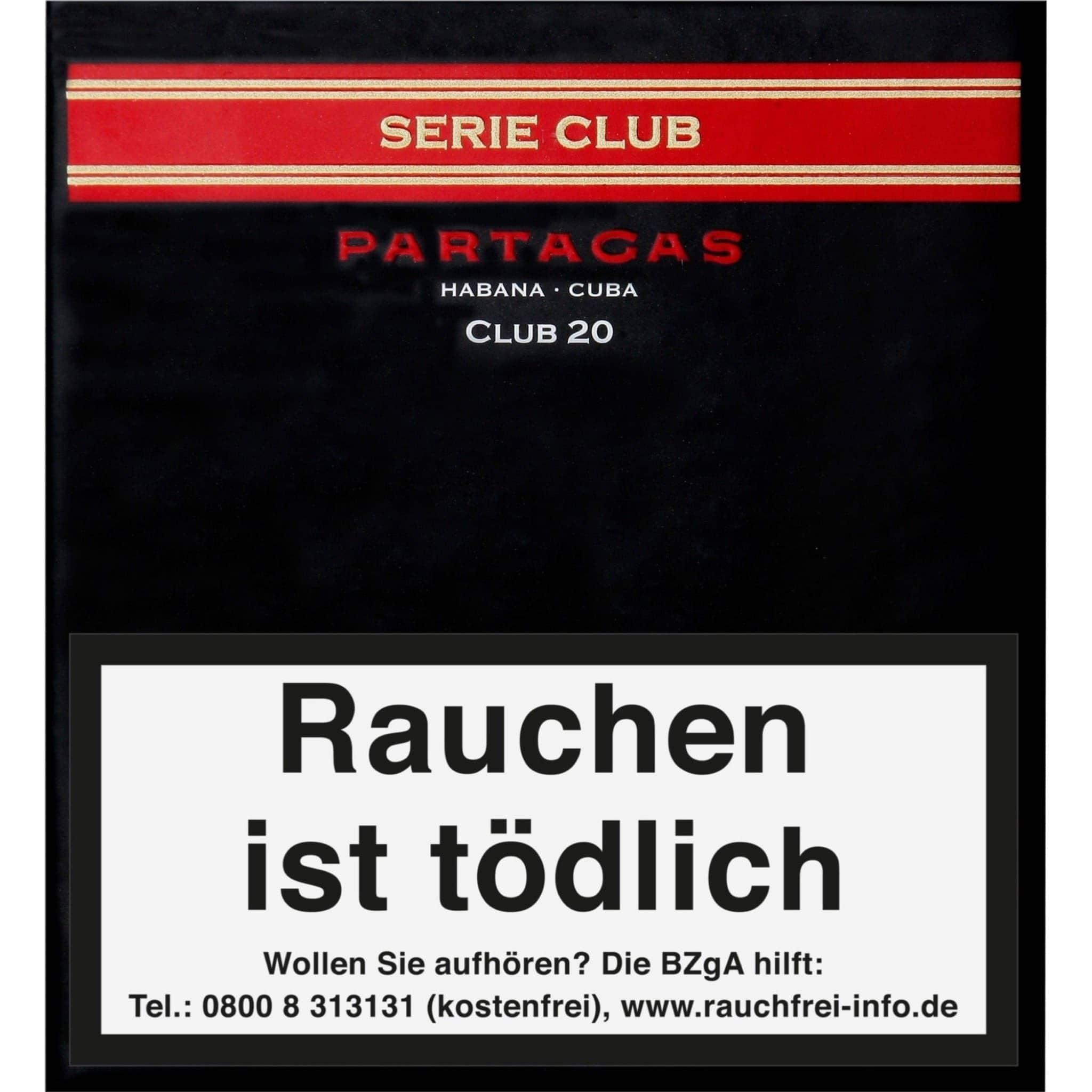 Partagás Serie Club 20er Packung