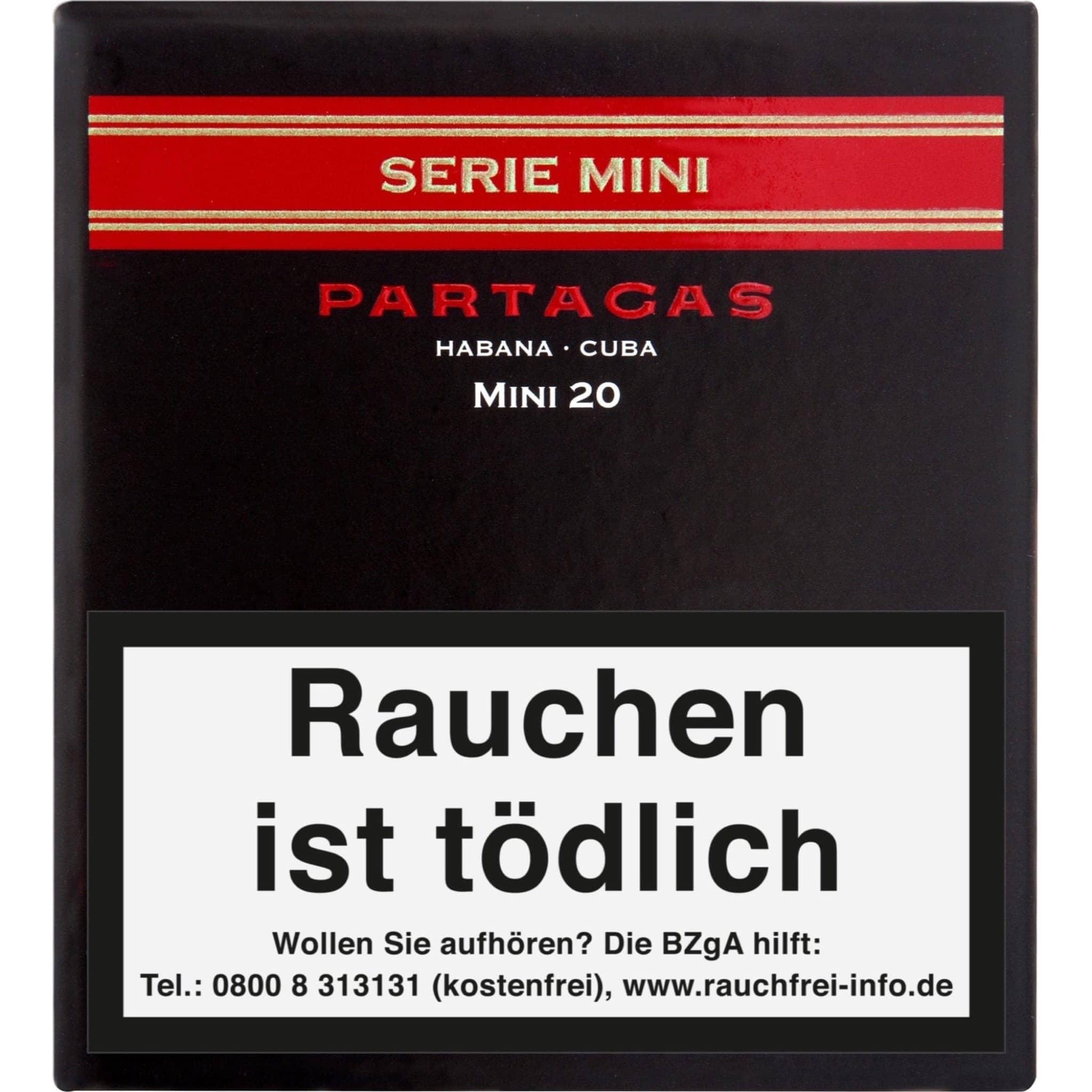 Partagás Serie Mini 20er Packung