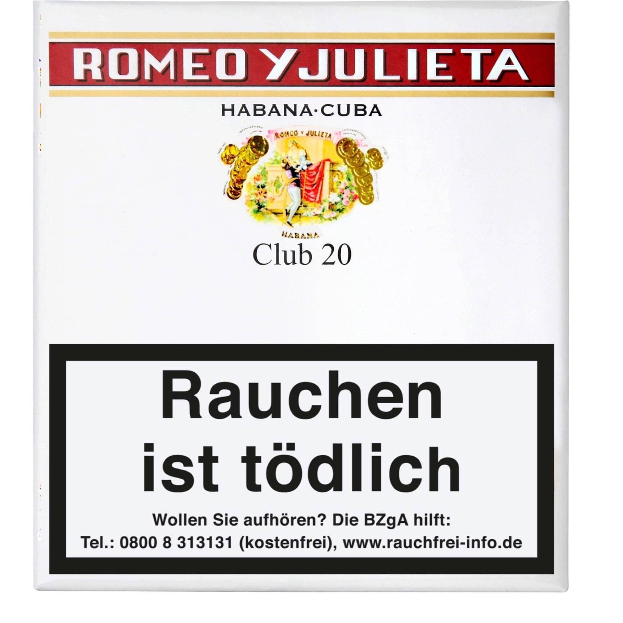 Romeo Y Julieta Club 20er Packung