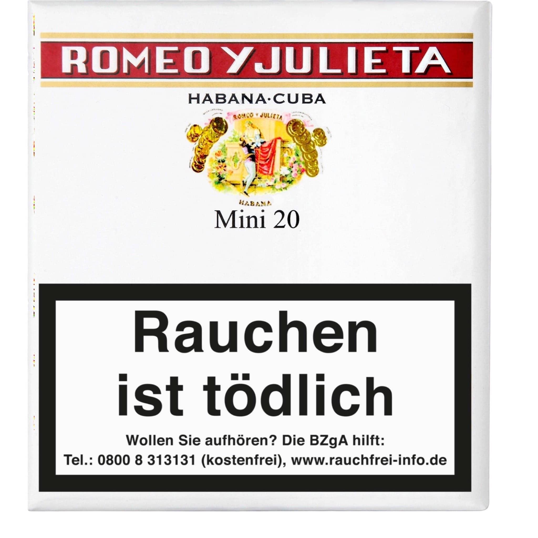 Romeo Y Julieta Mini 20er Packung