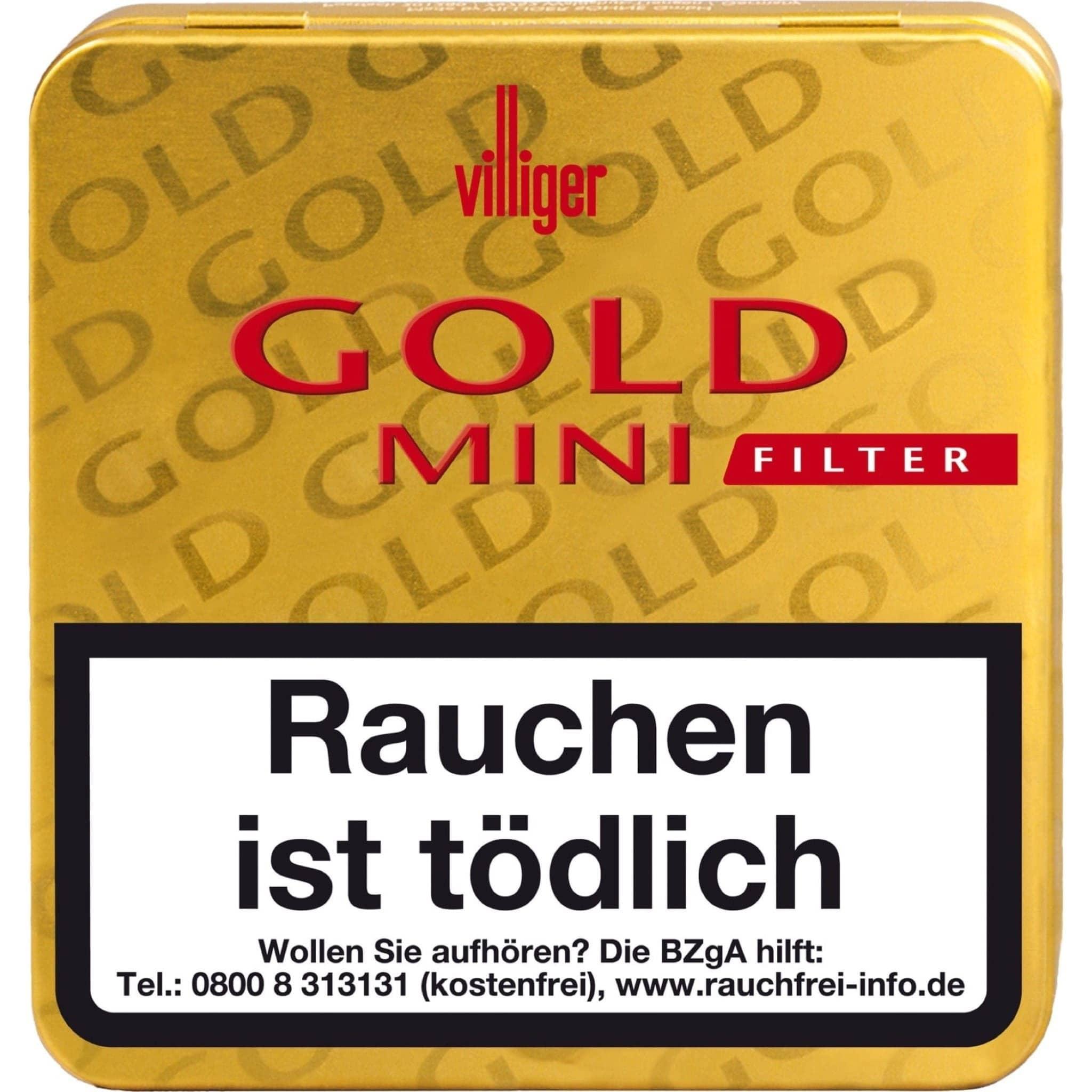 Villiger Gold Mini Filter 20er Packung