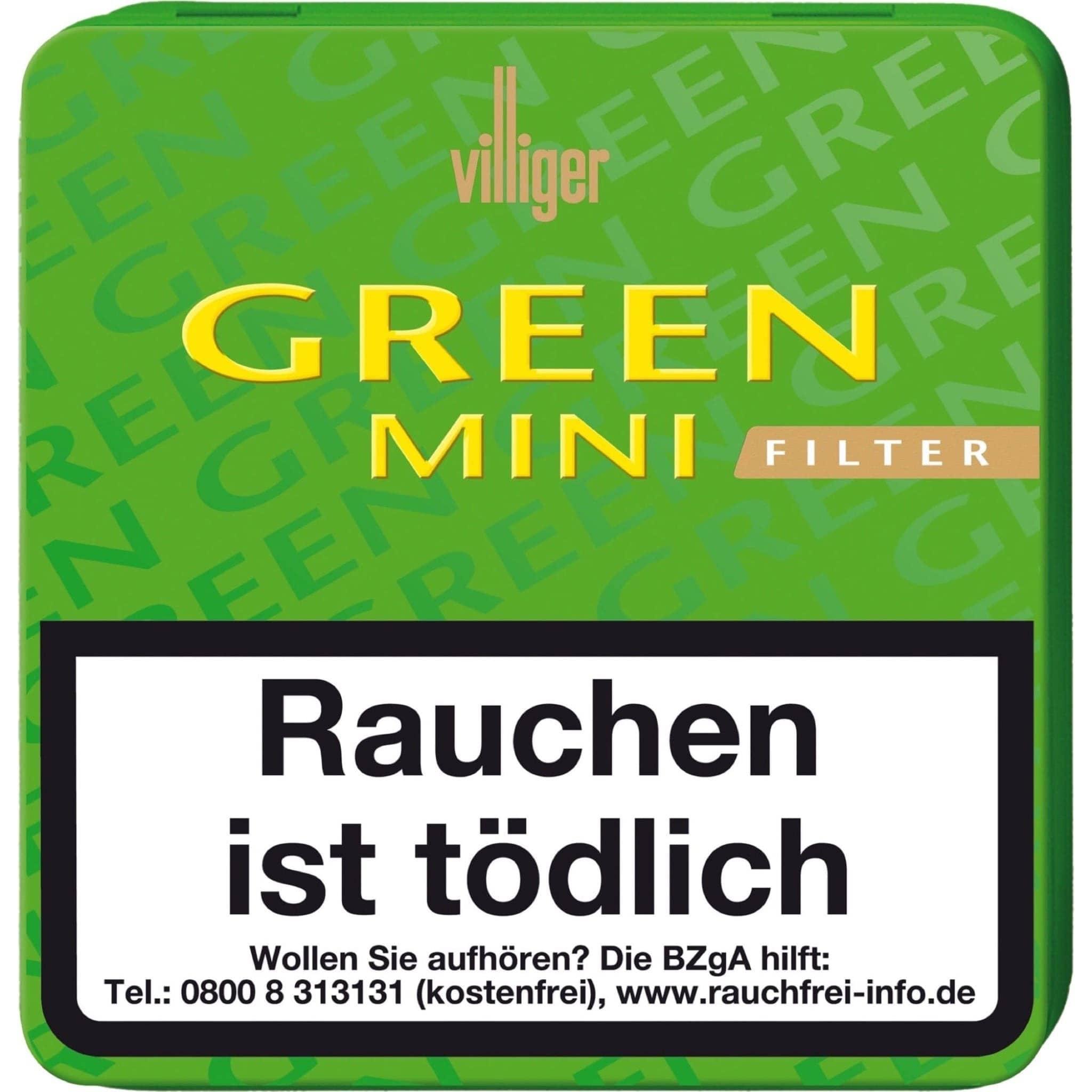 Villiger Green Mini Filter 20er Packung